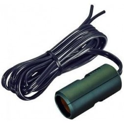 12V socket with 180cm cable