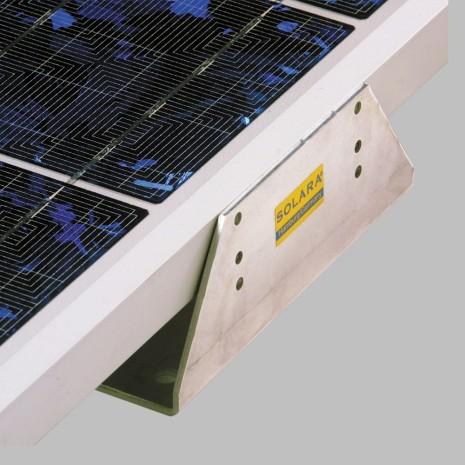Supporti angolari per montaggio pannelli su camper