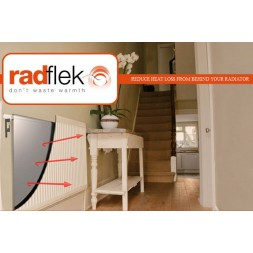 Radflex - radiator reflector panel