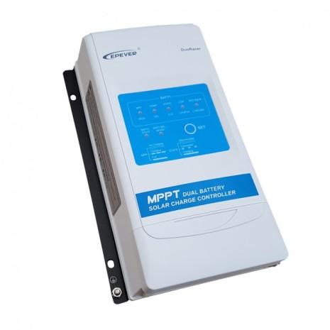 Regolatore di carica 20A 12/24V MPPT Dual Battery