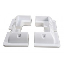 Kit of 4 Angular brackets for panels
