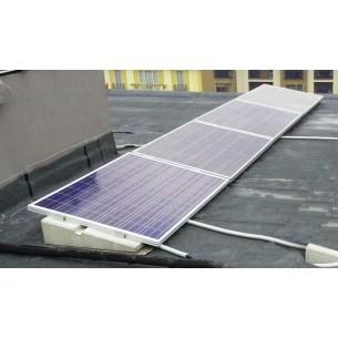 Ballast mounting kit for plan roof - 4 panels