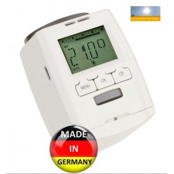Digital thermostatic valve
