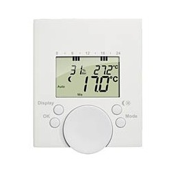 More about Wireless thermostat TTD2000Thermostat high level: when connected to digital thermostatic heads TTD15