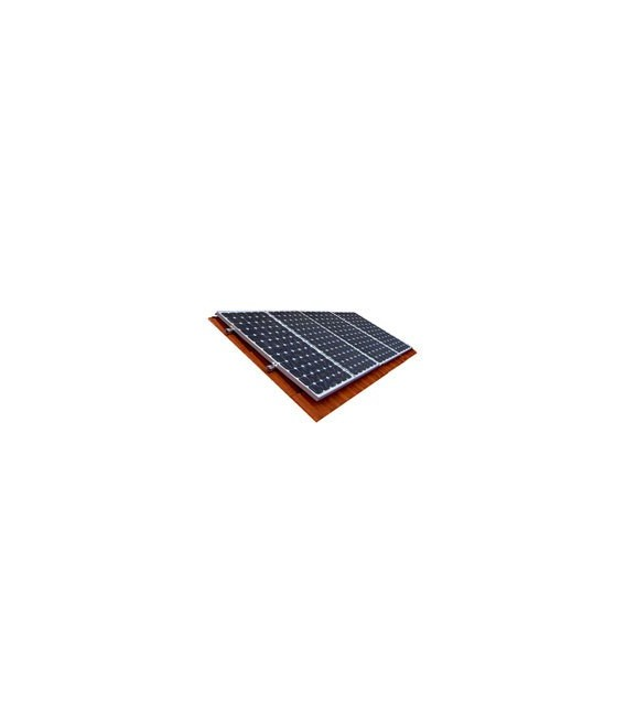 Roof mounting kit for 4 panels 50-300W