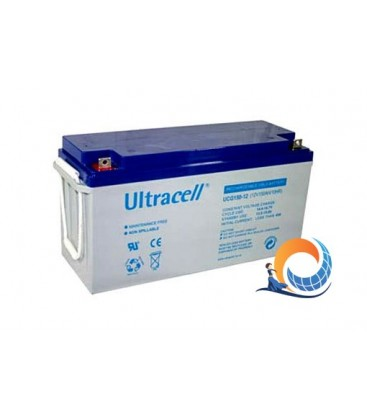 Batteria 150Ah-12V-Ultracell GEL Deep Cycle