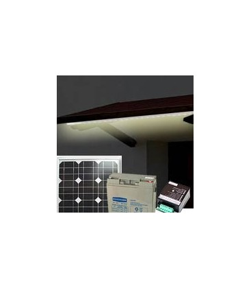 Photovoltaic Shelter / Roof KIT - Base - Separate Lighting