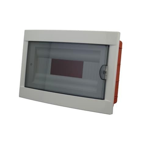 Centralino porta 12 moduli DIN con sportello IP40