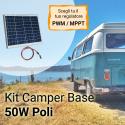 Kit solare camper 50W
