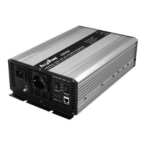 2000W/12V Inverter onda pura Alca Power funzione UPS e caricabatterie