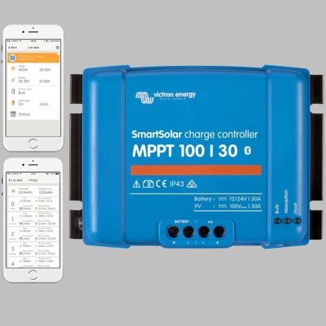 Regolatore di carica MPPT 30A 12/24TRON con Bluetooth