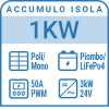 Componi il tuo Kit a isola 1kW