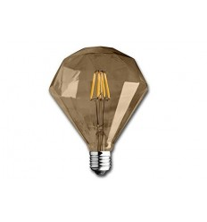 Diamond Edison Filament Gold 4W Led Lamp