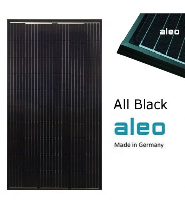 Pannello 300W Aleo Monocristallino Made in Germany All black