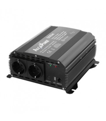 600W/12V Inverter onda pura Alca Power