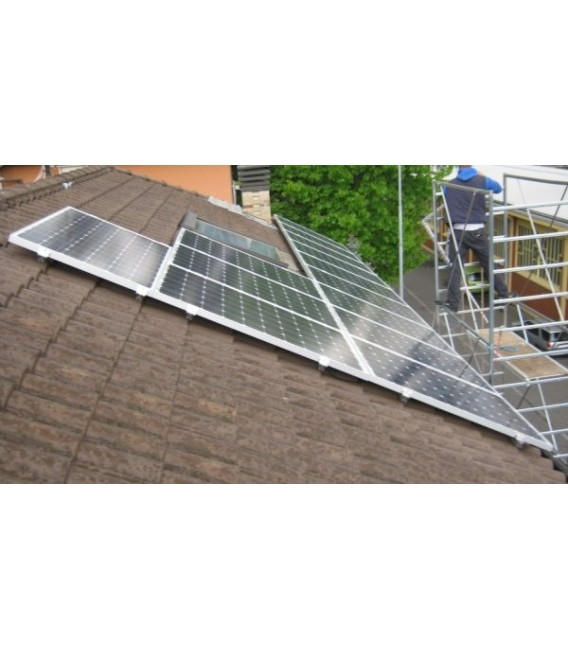 3kW photovoltaic system