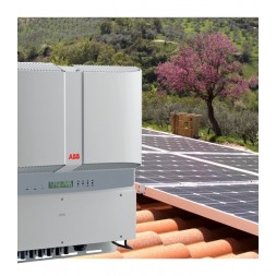 10 kW PV grid connected plant