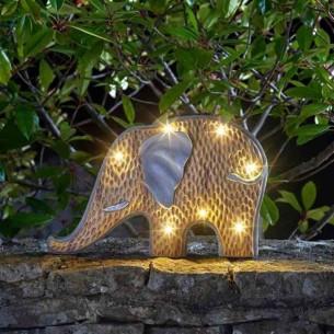 Elefante Solare Pietra e Legno