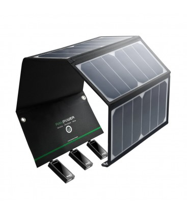 Caricabatterie solare 24W Solar Charger