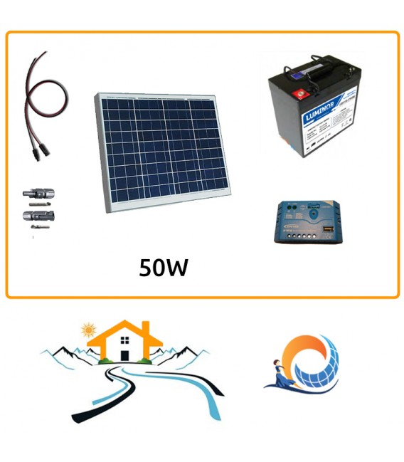 Kit fotovoltaico Weekend a Isola 0,4 kWh