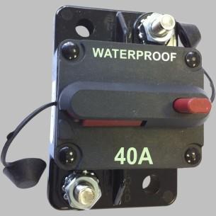 Interruttore automatico 40/60/80/100/150A - 12V CC