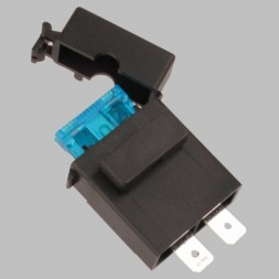 Modular fuse holder for blade fuses with 2 Faston connectors
