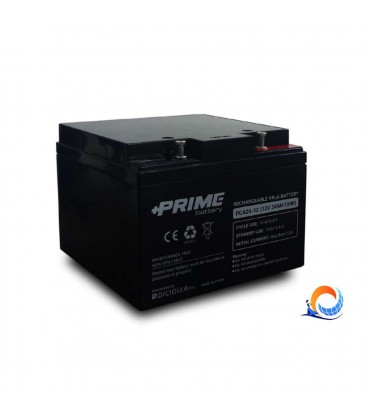Batteria 24Ah 12V Prime Deep Cycle