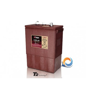 Batteria 390Ah 6V Trojan Deep Cycle T2