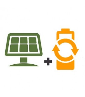 Off-grid solar kit