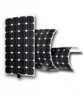 Flexible photovoltaic panels